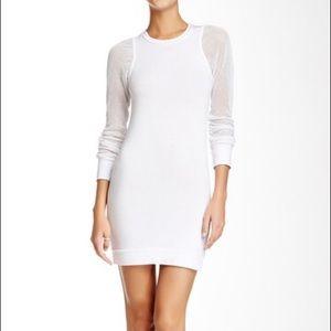 Young Fabulous & Broke white mesh Abbey dress sz s
